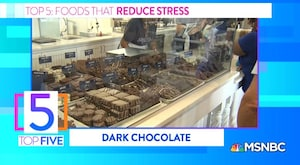 Top 5 Foods For Relieving Stress