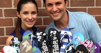 Madison And Dan Robinson Of FishFlops: Father-Daughter Team Hits The Big Time
