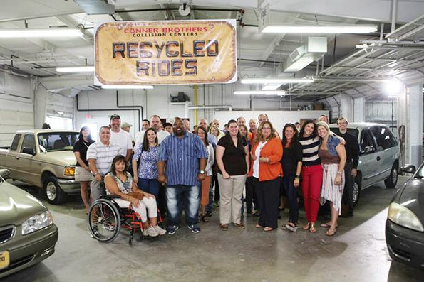 "Conner Brothers Collision Centers and its ""Recycled Rides"" program"
