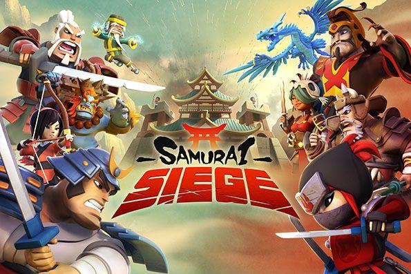 Space Ape Samurai Siege