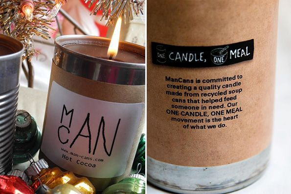 ManCans – a manly candle company with a twist