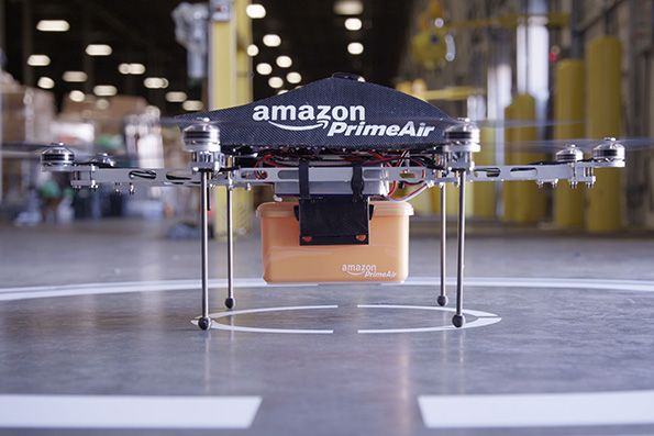 "In late November, Amazon CEO Jeff Bezos announced on 60 Minutes that, within five years, his company would be able to deliver packages via its own private fleet of drones. The media, of course, rushed to attack the plan. ""Get set for the rise of the machines,"" the New York Post warned, while Business Insider opined that the drones would ""offer Up a whole new universe of surveillance."" TechCrunch, noting that UPS was also considering drone deliveries, warned readers that, in the future, a ""constant robot background hum"" was ""increasingly inevitable,"" and the Wall Street Journal dismissed the claim as ""little more than puffery."""