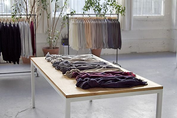 luxury scarves Everlane