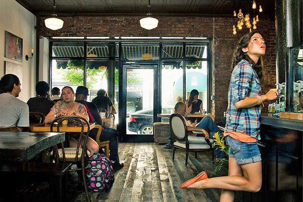Lenox Coffee made its neighborhood debut in December 2010