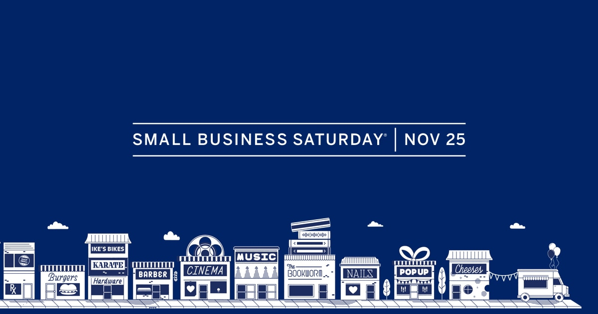 Small business saturday shop small american express reheart Choice Image